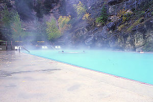 Pool At Radium Hot Springs
