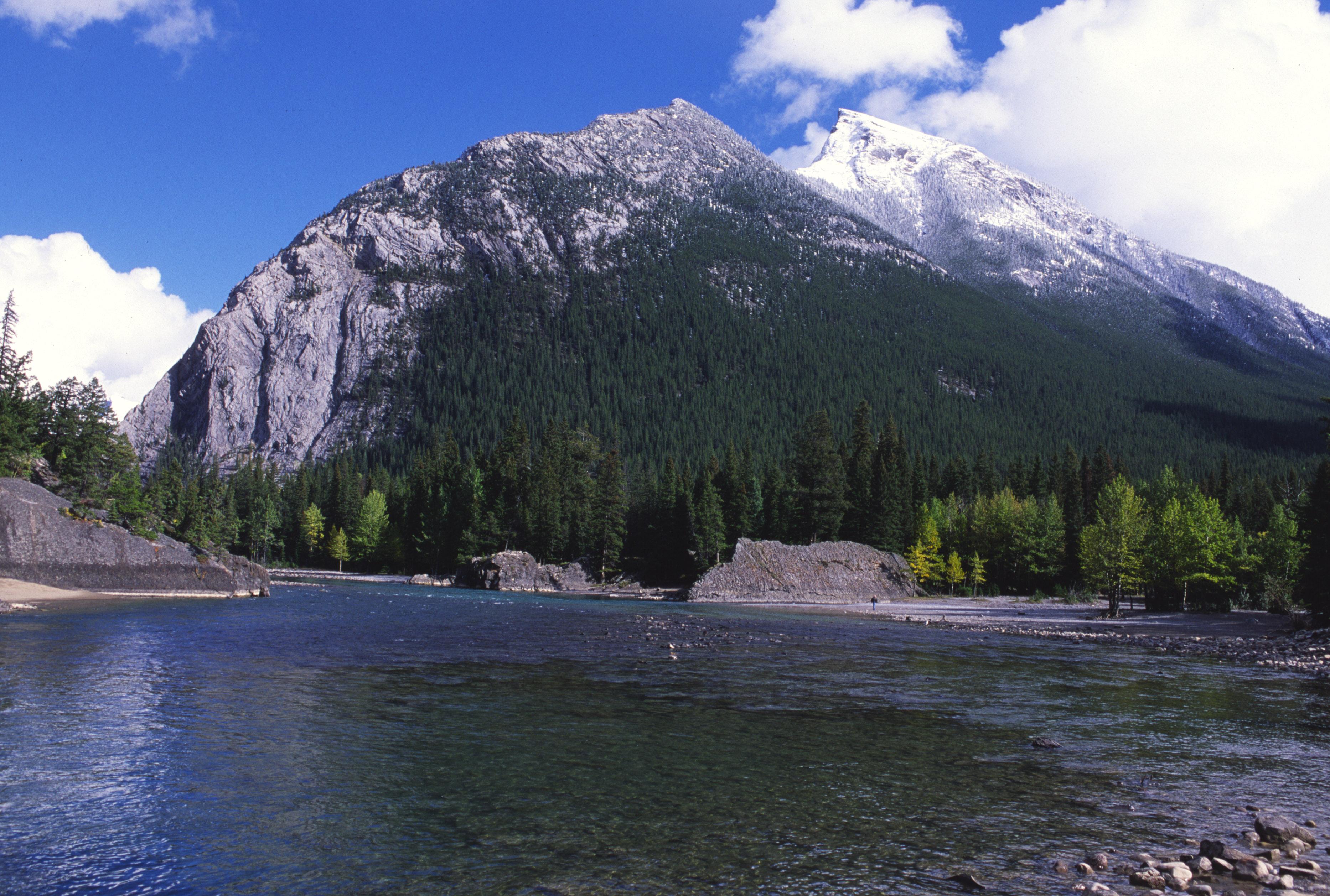 Mountain Across River