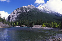 Mountain Across River