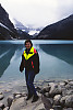 Karen At Lake Louise