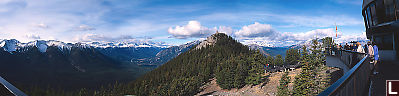 View From Sulphur Mountain Stations