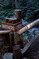Brothers Creek Sign