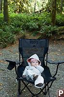 Baby At Camp