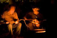 Jer And Mark Preparing Marshmellows