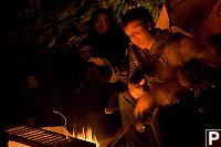 Jeremy Poking Fire