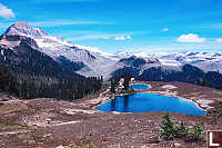 View Of Elfin Lakes