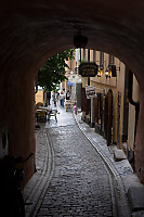 Alley Through Tunnel