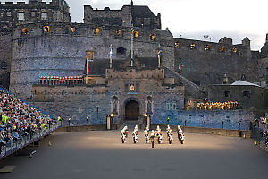 Pipers On Wall