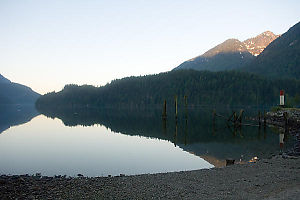 Indian Arm Mirror At Sunrise