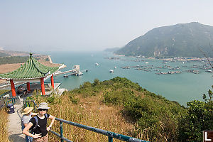 View On Lamma Island