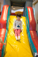 Claira On Bouncy Castle