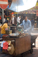Roast Chestnut Vendor