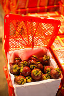 Red Cases Of Mangosteen