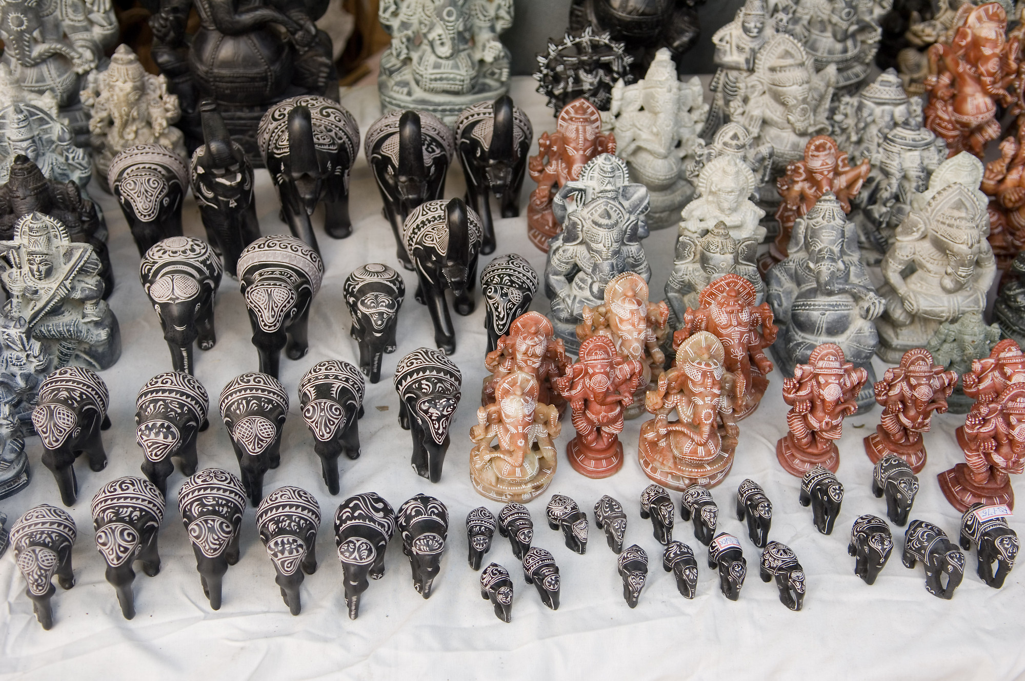 Small stone carvings