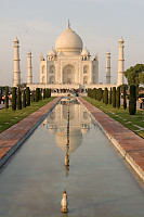 Taj Before Sunset
