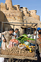 Vegetable Stand Under Fort