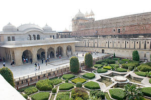 Gardens And Two Palaces