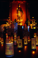 Lanterns In Shrine