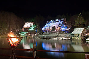 Light Up At Hida Folk Village