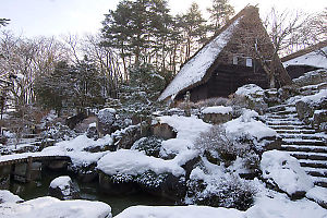 Our Ryokan With Fresh Snow