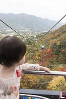 Claira Riding Up The Gondola