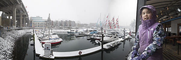 Nara With Snow On Marina