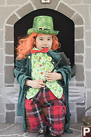 Nara Dressed Like Leprechaun
