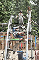Playing On Climber