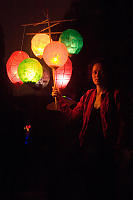 Mobile Full Of Lanterns