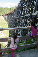 Inside Curve Of Kinsol Trestle