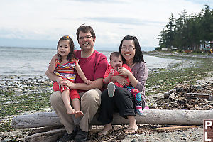 Harvey Shum Family Portrait On The Beach