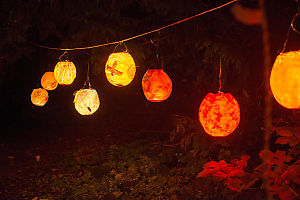String Of Balloon Lanterns