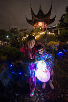 Nara Claira With Two Lanterns