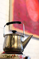 Tea Kettle On The Boil