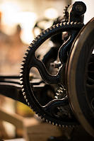 Leather Cutting Machine Gears