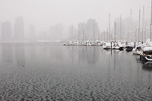 False Creek Starting To Freeze