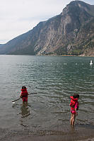 Swim In Seton Lake