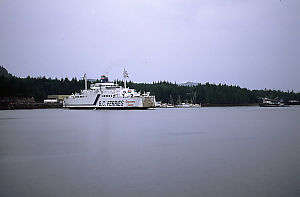 Discovery Coast Ferry in Shearwater