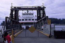Ferry into Alert Bay