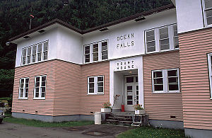 Court House at Ocean Falls