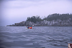 Jaques and Charles Kayaking