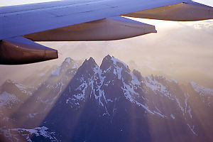 Wing Over Mountains