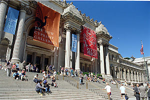 Entrance To The Met