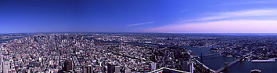 Panorama from Top of the World Trade Center