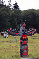 Eagle On Man Totem