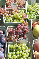 Grapes In Market
