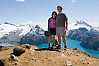 Helen And I On Panorama Ridge