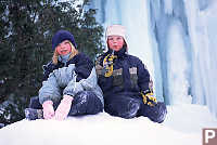 Kaitlyn and Kyle on Snow