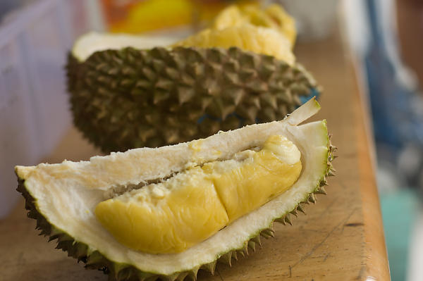 Broken Open Durian