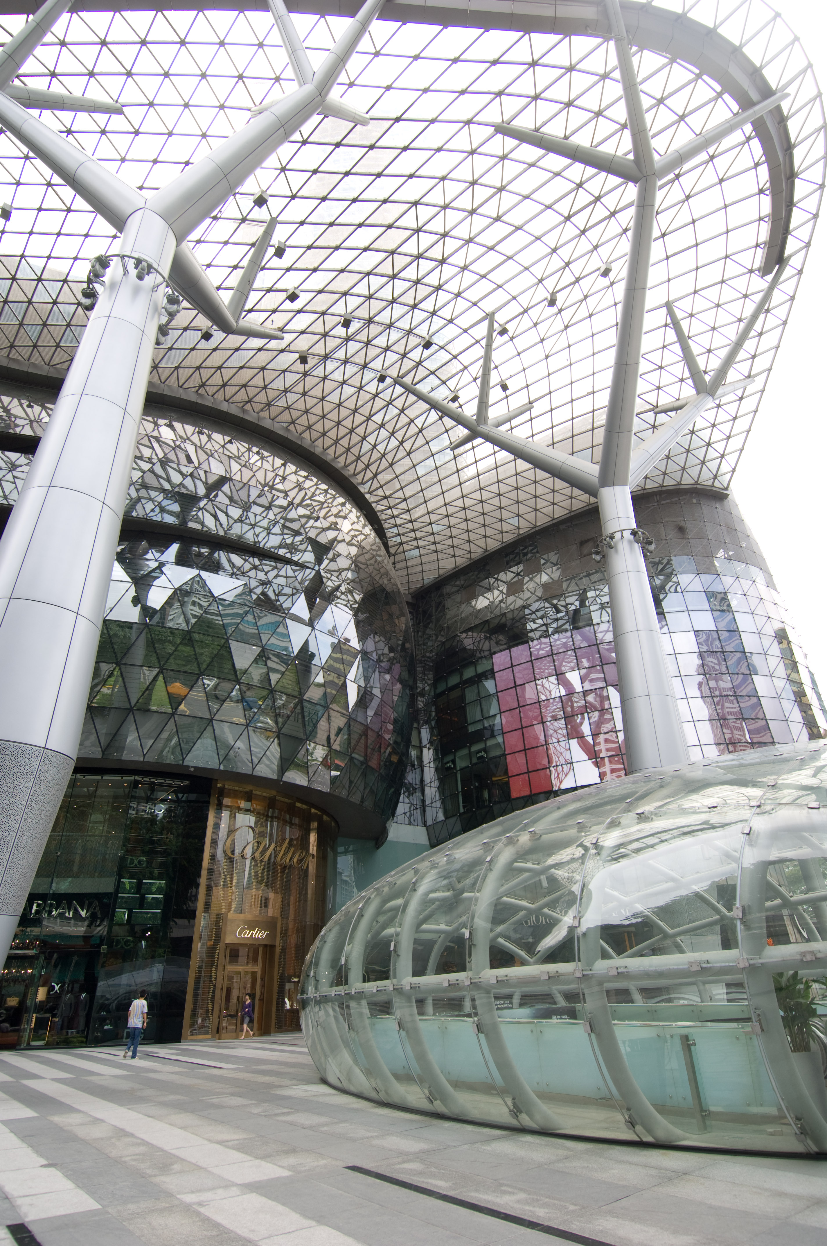 Ion Orchard Entrance